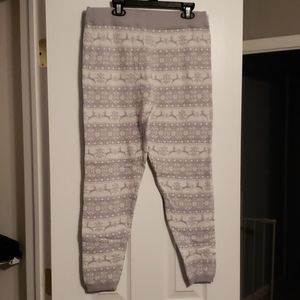 Sweater leggings